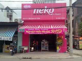 neko cửa hàng tiện lợi Thái Lan