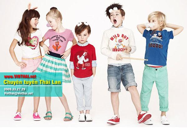 Mua hộ quần áo trẻ em Thái Lan