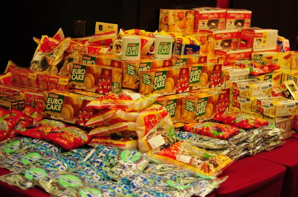 Bánh kẹo Thái Lan nhãn hiệu Eurofood