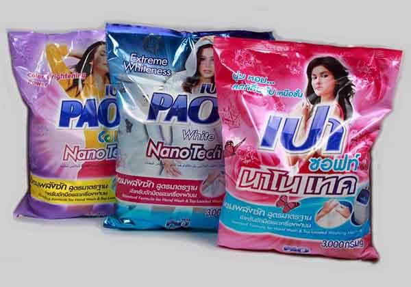 Bột giặt PAO Thái Lan
