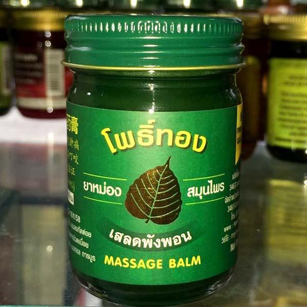 Nhập dầu cù là xanh Thái Lan