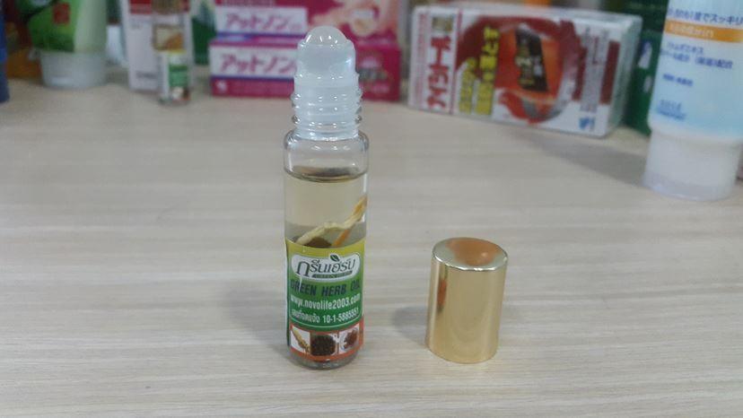 Dầu gió thảo dược Green Herb Oil còn có tên là dầu nhân sâm