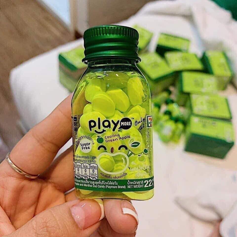 Kẹo Play Thái là dạng kẹo cứng có vị trái cây, nằm trong top bánh kẹo Thái Lan ngon hiện nay