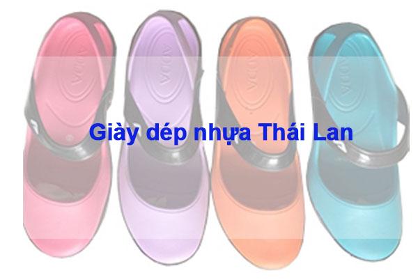 Giày nhựa Thái Lan