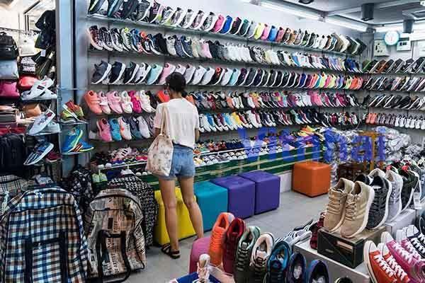 Chợ giày Thái Lan