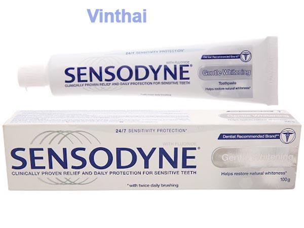 Kem đánh răng Thái Sensodyne Gentle Whitening